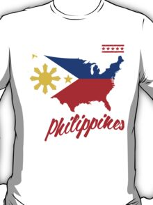i may live in AMERICA but i was made in the PHILIPPINES T-Shirt