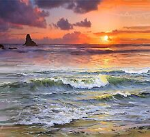 Laguna  Beach - SUNSET  by Ararat Mamigonian