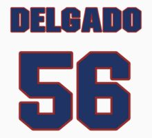 National baseball player Alex Delgado jersey 56 by imsport