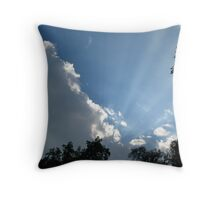 Rays of the Sun Throw Pillow