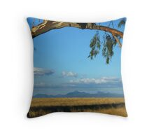 Warrumbungles From Wilber  Throw Pillow