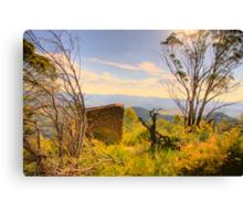 Shelter -  The  Blue Mountains HDR Series - Shipley Plateau  Sydney Australia Canvas Print