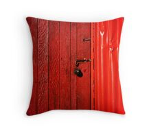 The Blood Shed Throw Pillow