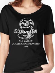 Cobra Kai All Valley Karate Championship 1984 Funny Geek Nerd Women's Relaxed Fit T-Shirt