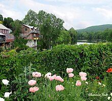The Bridge of Flowers over the Deerfield River  by SummerJade