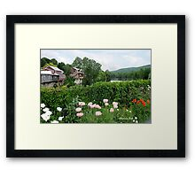 The Bridge of Flowers over the Deerfield River  Framed Print