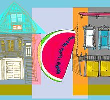 A Fruit Lives On My Block no1 by Tim Snyder