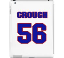 National baseball player Zach Crouch jersey 56 iPad Case/Skin