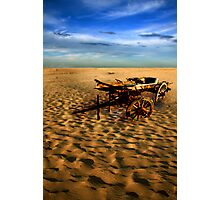 THE LONELY DESERT 1 Photographic Print