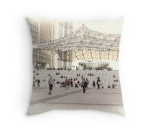 La Defense, Paris, France #5 Throw Pillow