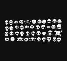 Skulls by tessamisso