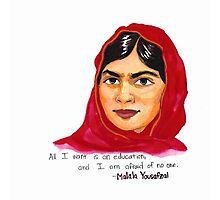 Malala Photographic Print