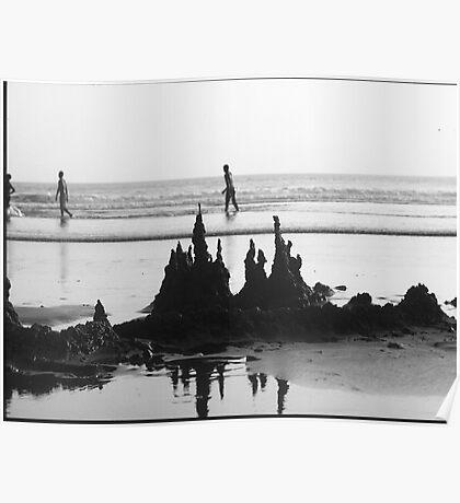 Sand Castle Biulding Seminyak Bali Poster