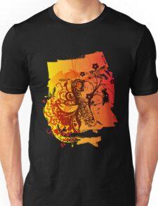 Retro Abstract Sax Unisex T-Shirt
