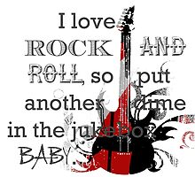 I LOVE ROCK AND ROLL by EMana-Lier-