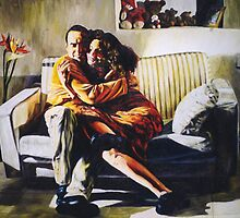 my brother and his wife  by raphael perez