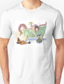 Bath time with Luci Unisex T-Shirt