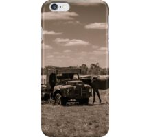 Horse Power Wanted iPhone Case/Skin