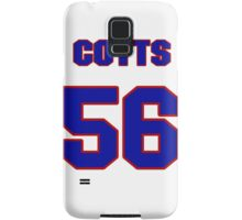 National baseball player Neal Cotts jersey 56 Samsung Galaxy Case/Skin