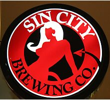 Sin City Brewing Photographic Print