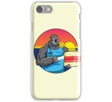 Surfs Up Gorilla iPhone Case/Skin