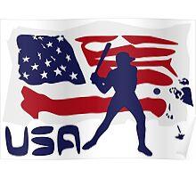Baseball USA Poster
