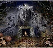Samhain Goddess : The Crone by Celtic Mystery