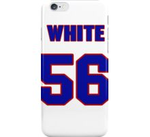 National baseball player Bill White jersey 56 iPhone Case/Skin