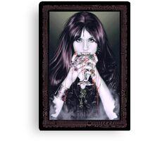 Goth Vamp Canvas Print