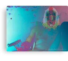 mask-ulinity Canvas Print