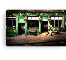 The Malt Shovel Canvas Print