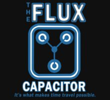 THE FLUX CAPACITOR FUNNY GEEK NERD T-Shirt