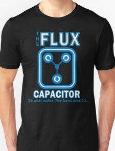 THE FLUX CAPACITOR FUNNY GEEK NERD T-Shirt
