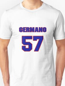 National baseball player Justin Germano jersey 57 T-Shirt