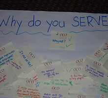 To serve is to love by XingXing