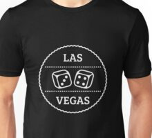 Las Vegas Patch (Nevada / White) Unisex T-Shirt