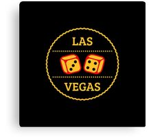 Las Vegas Patch (Nevada / 4C) Canvas Print