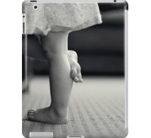 Watching TV intently iPad Case/Skin
