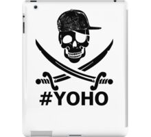 #YOHO Black YOLO Pirate Flag  iPad Case/Skin