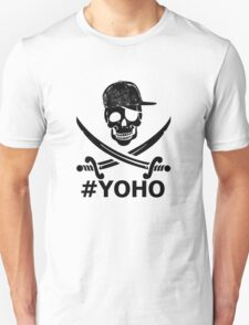 #YOHO Black YOLO Pirate Flag  T-Shirt