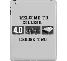COLLEGE ADVICE  iPad Case/Skin