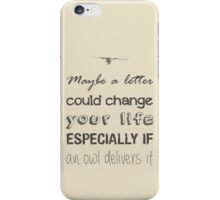 HOGWARTS LETTER iPhone Case/Skin