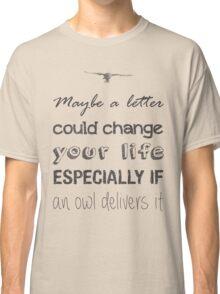 HOGWARTS LETTER Classic T-Shirt