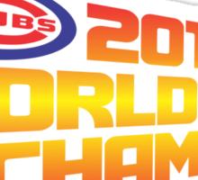 2015 World Series Champions Sticker
