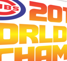 2015 World Series Champions Sticker