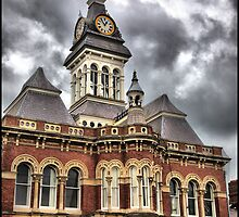Grantham Town Hall by Melody Shanahan-Kluth
