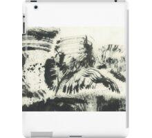 man and bird iPad Case/Skin