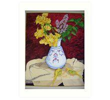 Kütahya Vase Art Print