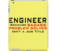 Engineer iPad Case/Skin