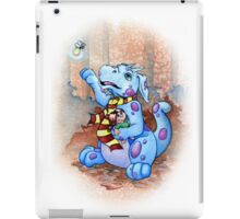 george the little dragon iPad Case/Skin